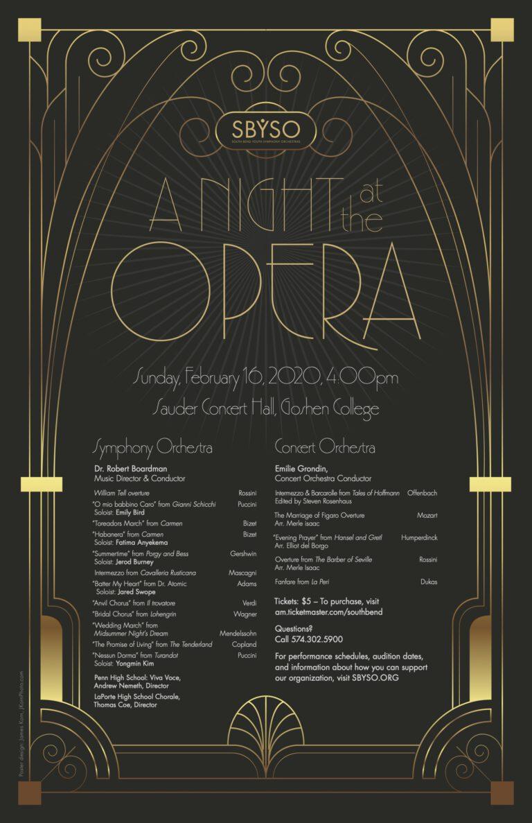 SBYSO-Opera Poster